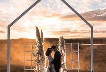 Modern Country Wedding Inspiration