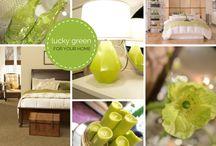 COLOR: Green Home Decor