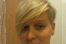 Pixie haircut / Pixie, cut, with banks, short hairstyle, pixie cut