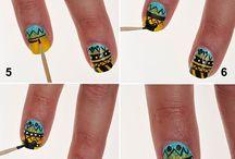 Disney Nails / Fun Disney-themed nail designs!  / by Karen & Becca