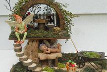 Gnome/Fairy House Ideas / by Shannon Hudson