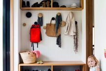 mud room cupboard