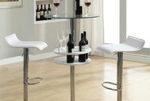 Metal Bar Tables / Metal bar tables and stools