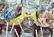 I love canning jars! / by Laura Bray Designs