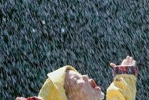 dážď, pršííí...