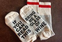 Talking Wine Socks