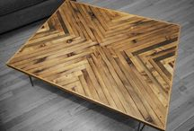Tables, Stools, and Butcher Blocks