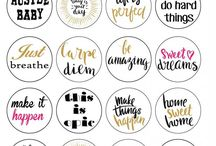 diary stickers  / Tips for diary planning