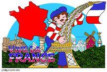 Thema Frankrijk voor kleuters / France theme preschool / France thème maternelle / Thema Frankrijk voor kleuters, lessen en knutselen / France theme preschool, lessons and crafts / France thème maternelle, bricolage