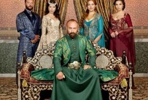 The Magnificent Century / This is a famous turkish series. The story's romantic line and the cast are amazing! They are so authentic.