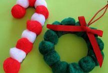 Adornos para Navidad / Podemos crear bonitos y originales adornos navideños para las pequeños, con materiales que tenemos en casa. ¡Es muy fácil y se divertirán creándolos! Sorprende a tus invitados en estas fiestas.