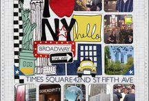 New York scrapbooking ideas