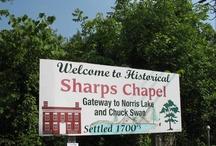 Sharps Chapel / by Mary Kirwan Haggard