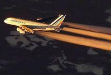 Vliegtuigen  Air France