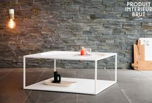 Beautiful black and white furniture / decoration, furniture, interior design, home design, white and black