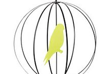 Gray and yellow room / Bird mobile  / by Sarah Smith