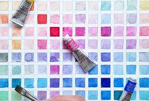 Perfect Palettes / Colour, hue, palette inspiration