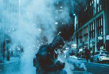Fotografia tonos frios