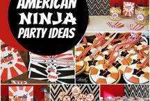 Birthday Party - Ninja Warrior