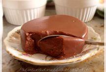 Budino magico di cioccolato
