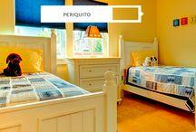 Quarto dividido: menino e menina / Um menino, uma menina e um único quarto! Inspire-se em nossas dicas de como ser criativo na hora de montar um ambiente que fuja do rosa e azul e agrade os dois!