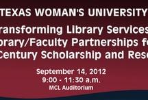 News at TWU Libraries