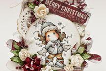 Christmas Magnolia Tilda / Christmas cards