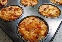 Muffins, herzhaft, süß