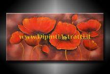 QUADRI MODERNI CON FIORI / Questa bacheca è dedicata a tutti quei quadri che hanno come tema i fiori.