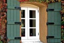 Windows, shutters, blinds
