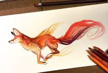 Chalkfest Ideas / Yes, clearly I'm leaning towards foxes