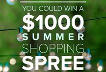 #DotandBoSummer Pin to Win! / You could win a $1000 Summer Shopping Spree on Dot & Bo!  Pin your summer entertaining must-haves for a chance at a $1000 Dot & Bo Summer Shopping Spree. It's easy! Visit dotandbo.com/pin-to-win for more details.