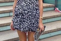 Olivia palermo | ruffle dress