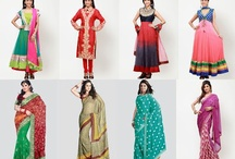 Buy Barcode suit sets and Barcode sarees online India