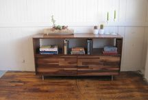 Bookcases / Bookcases • Bookshelves | Solid wood furniture pieces designed & built with 21 years of experience • traditional joinery with a modern aesthetic • mid century decor | shop @ jeremiahcollection.com