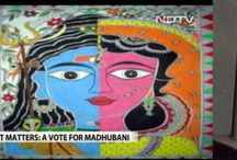 Madhubani by me in NDTV Story