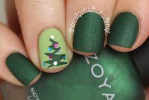 Chritsmas Nails - Uñas hermosas para navidad / Uñas navideñas, la mejor opción para esta temporada, no dejes de ver algunos lindos diseños navideños para lucirlos en esta temporada. Chritsmas Nail Art.