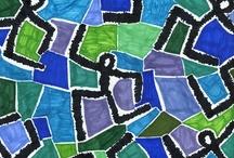 elementary art - klee / by Laine Van