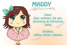MaddyLine.Art Avatar / This is my avatar, I call her Green Maddy
