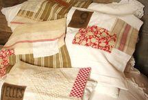 Linges Anciens & Créations / http://boutique.decoration-alesia.fr/52-creation-linge-de-maison