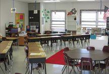 classroom arrangement decor