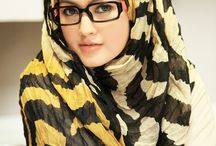glasses on hijab
