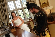 Destination wedding with Bagpipes!