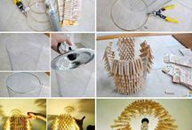 Wooden pen lamps