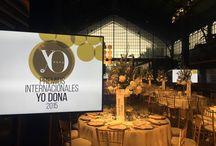 Premios Internacionales Yo Dona 2015 / Los premios Yo Dona sorprendieron a sus invitados con una cena 100% saludable preparada por Juan Blasco, Chef de SHA. #PremiosYD #10aniversarioYoDona / by SHA Wellness Clinic