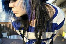 Emo/scene hair XD / If you want to be added just ask :3