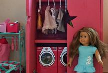 American Girl/Doll Ideas / Ideas for my daughter's dolls, houses, crafts etc.