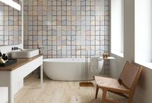 Bold Patterns and Colors in Tile