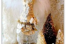dress forms / by Dawn Wrede Ruble