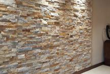 Stone Panels / Easiest way to make your home look awesome and expensive.